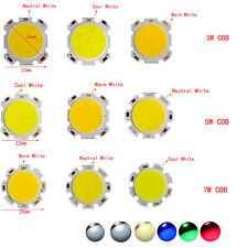 COB LED Light 1W 3W 5W 7W  Chip With High Power Beads White Light  Warm Whit 042