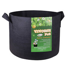 5-Pack Gallon Plant Grow Bags, Premium Series Thichkened Non-woven Aeration Pots