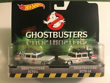 HOT WHEELS GHOSTBUSTERS 2 PACK ECTO-1 & ECTO-1A