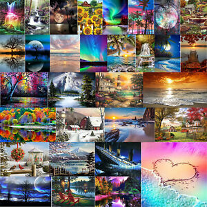 5D Diamond Painting Full Diamant Kreuzstich Stickerei Malerei Landschaft Bilder