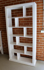 White Color Room Divider Bookcase Bookshelves Study Room Furniture