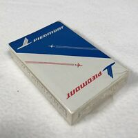 Piedmont Airlines Playing Cards Sealed in Original Plastic Advertisement Cards