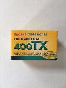Kodak Black and White Professional - TRI-X ISO 400 36exp 35MM Film 2007 New BIN