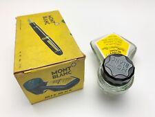 """Vintage 1950's Montblanc No.29 Fountain Pen """"Liegeflasche"""" Ink Bottle (Empty)"""