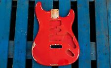 Eden Relic'd Series Empress Body Tremolo for Strat Guitar Fiesta Red