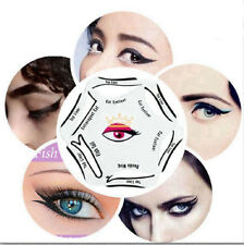 6 in 1 Eyeliner Stencil For Cat Eyeliner Double Wing Fish Tail Extravagant Cat