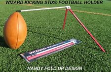 Wizard Kicking Stix® Football Kicking Holder-Red-White
