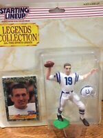 1989 Starting Lineup Johnny Unitas Legends Collection Kenner Sports Figure