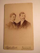 Hannover-COPPIA-uomo & donna-Portrait/CDV