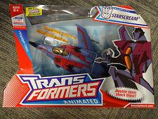 2007 Hasbro Transformers Animated Voyager Class Starscream Air Warrior Supreme