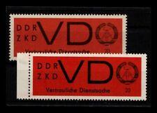 DDR ZKD 1965 Nr D3x+y postfrisch (403785)