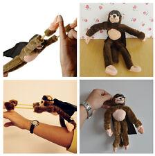 Slingshot Monkey Flying Screaming Flies 50 Feet Flingshot Soft Plush Sound PS US