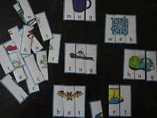 Teaching Resources - Literacy - CVC Word Game Puzzles
