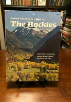 VINTAGE - DISCOVERY TRIPS IN THE ROCKIES (Sunset Magazine) 1972 - Illustrated