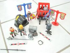 playmobil shooting cannon with trailer 3 figures and accessories