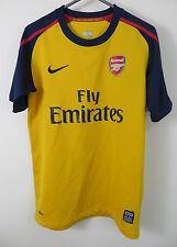 Arsenal Camisa de fútbol 2008-09 lejos de Fútbol Jersey Niños Chicos Yth YL L Grande 12-13