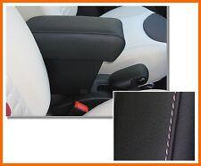 Bracciolo Premium per FIAT 500 L colore NERO +CUCITURE BIANCHE-appoggiabraccio-@