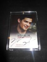 SLEEPY HOLLOW SEASON 1 Cryptozoic AUTOGRAPH CARD #NG NICHOLAS GONZALEZ (Holder)