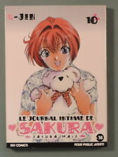 Journal intime de Sakura vol 10 U Jin Iku Comics public averti
