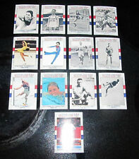 Lot of 13 U.S. USA Hall of Fame Olympic Cards Peggy Fleming Mary Lou Retton