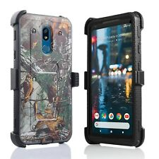 """for 6.2"""" LG Stylo 5 Combo Kickstand Built in Screen Protector Clip Phone Case"""