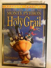 Monty Python and the Holy Grail Dvd 2001 2-Disc Set Special Edition Vg