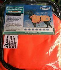 "Weatherbeeta Reflective Parka With Belly Wrap 300D Dog Coat. 18""  45cm. Midium"
