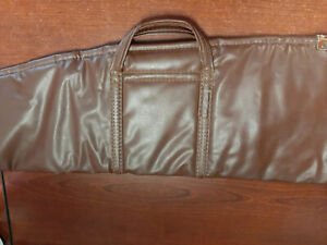 Vintage Straight Shooter Rifle/Shotgun Padded Leather Hunting Case