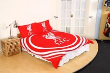 New LIVERPOOL F.C. Football Club Duvet Quilt Cover Set Boys Kids - Double Bed