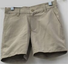 Chaps Boys School Approved Khaki Shorts Size 7 Reg