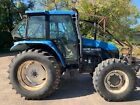 2002 New Holland Ford TS110 Cab Tractor - 110HP - 4WD - 2,180 Hours - Municipal