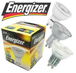 Energizer LED GU10 Bulbs 3w = 35w 5W = 50W Spot Light Lamp 3000k/4000k