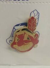 RARE VINTAGE 1991 SUNOCO CLEVELAND INDIANS CHIEF WAHOO PIN SET....NEW & MINT
