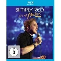 """SIMPLY RED """"LIVE AT MONTREUX 2003""""  BLU-RAY NEW+"""