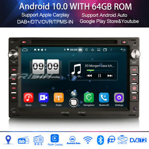 Android 10.0 Autoradio for VW BORA GOLF IV TRANSPORTER Seat IBIZA Carplay 8-Core