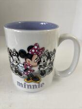 New listing Minnie Mouse Disney Parks Disneyland Resort 3D Coffee Mug Cup Purple Interior
