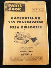 CAT Caterpillar 955 955A Traxcavator Dozer Parts Manual 60A8413 Up 42D329 Up
