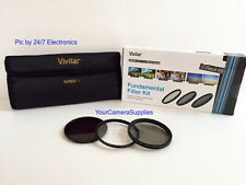 VIVITAR Filter Kit 62mm ND8 UV CPL To Sigma 18-250 18-200 28-300 30 mm F 1.4 ex