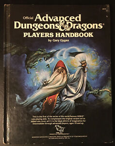 Players Handbook - Advanced Dungeons & Dragons TSR 1978 2010 Wizard Cover Good