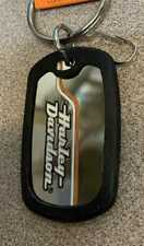 Harley-Davidson Stacked Logo Rubber Key Chain **004476R01**