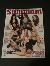 2012 SUMMUM MAGAZINE LADIES SEXY PIN-UP MENS MAGAZINE IN FRENCH QUEBEC EDITION