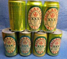 New listing 7 Dif. Ballantine Ale Beer Cans Falstaff Brewing Ft. Wayne Indiana Cranston Ri