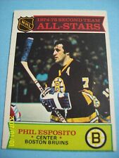"""Authentic..1975-76 Topps """"Vintage"""" (All-Star) Card # 292 Phil Esposito!  N/MT!"""
