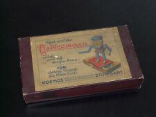 Kosmos 'Elektromann' von 1939, Originalkarton mit Anleitungsbuch! Wilh. Fröhlich