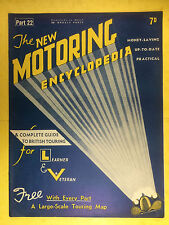 The NEW MOTORING ENCYCLOPEDIA  1937 - Part 22 - Marmon - Maybach Gear - M.G.