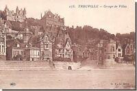 CPA 14 - TROUVILLE - Groupe de Villas