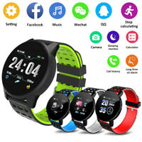 Smart Watch Bluetooth Heart Rate Blood Pressure Sport Fitness Tracker Wristband