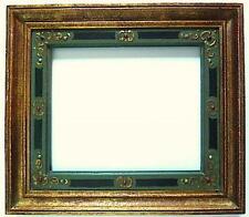 CADRE BOIS SCULPTE ORIENTALISTE  ART NOUVEAU   36 X 30 cm FRAME XIX XX Ref C46