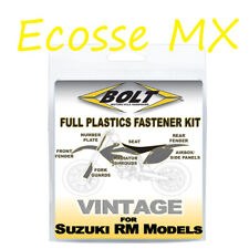Suzuki RM125 RM250 1993-1995 Plastic Panel Bolt Kit Plastic Fastener Kit