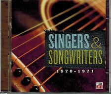 TIME-LIFE - SINGERS & SONGWRITERS - 1970-1971 - 24 SONGS - MINT 2 CD SET